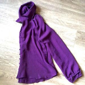 Purple Blouse Size Large